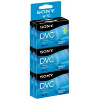 Sony 60-min DVC Premium 6-Pack