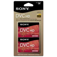 Sony 63-min MiniDV Tape 2-Pack
