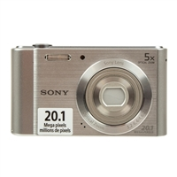 Sony Cyber-shot DSC-W800 20.1 Megapixel Digital Camera - Silver