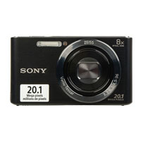 Sony Cyber-shot DSCW830/B 20.1 Megapixel Digital Camera - Black