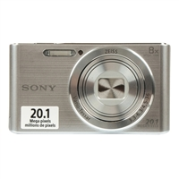 Sony Cyber-shot DSC-W830 20.1 Megapixel Digital Camera - Silver