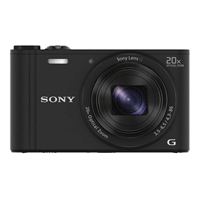 Sony Cyber-shot DSC-WX350/B 18.2 Megapixel Digital Camera-Black