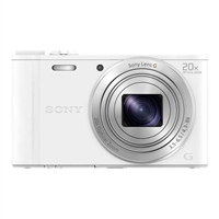 Sony Cyber-shot DSC-WX350/W 18.2 Megapixel Digital Camera - White