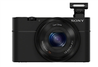 Sony DSC-RX100/B 20.2 Megapixel Digital Camera - Black