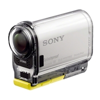 Sony HDR-AS100V/W Splashproof POV Action Cam - White