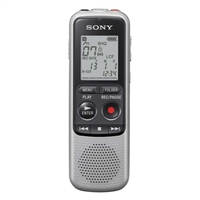 Sony ICD-BX140 Digital Voice Recorder - Silver