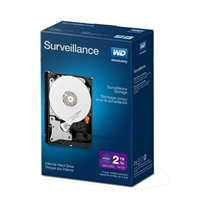 "WD Purple Surveillance 2TB IntelliPower SATA III 6Gb/s 3.5"" Internal Hard Drive"