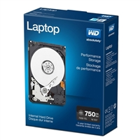 "WD Black Laptop Performance 750GB 7200RPM SATA III 6Gb/s 2.5"" Internal Hard Disk Drive"