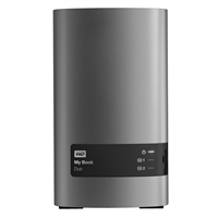 "WD My Book Duo 12TB (2 x 6TB) SuperSpeed USB 3.0 3.5"" RAID External Hard Drive"
