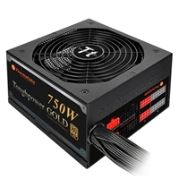 Thermaltake ToughPower 750 Watt Semi Modular 80 Plus Gold Power Supply