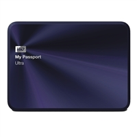 "WD My Passport Ultra Metal Edition 1TB 5,400RPM SuperSpeed USB 3.0 2.5"" External Hard Drive - Blue/Black"
