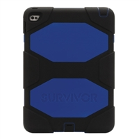 Griffin Survivor Case for New iPad - Black/Blue