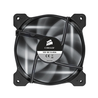 Corsair Air SP120 High Static Pressure White LED Hydraulic 120mm Bearing Case Fan - Twin Pack
