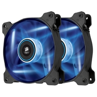 Corsair Air SP120 Blue LED Hydraulic Bearing 120mm Case Fan - Twin Pack