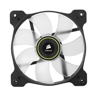 Corsair Air Series SP120 LED Green High Static Pressure Fan - Twin Pack