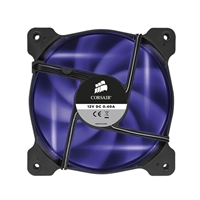 Corsair Air Series SP120 LED Purple High Static Pressure Fan - Twin Pack
