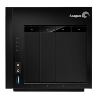 Seagate NAS 16TB 4-Bay Network Attached Storage STCU160001000 - Diskless