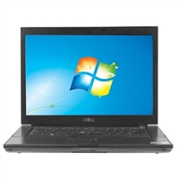"Dell Latitude E6500 Windows 7 Professional 15.4"" Laptop Computer Refurbished - Black"