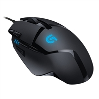 Logitech G402 Hyperion Fury FPS Gaming Mouse - Black