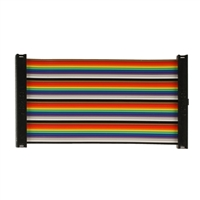 Cyntech GPIO Ribbon Cable, 100mm 40 Way - Rainbow