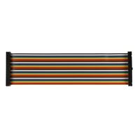 Cyntech GPIO M-M 40 Way Ribbon Cable - Rainbow (200mm)