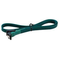 Eagle Technologies Nanoxia 60cm SATAIII Angled Cable - Green