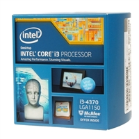 Intel i3-4370 3.4GHz LGA 1150 Boxed Processor