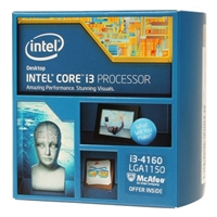 Intel Core i3-4160 3.6 GHz LGA 1150 Boxed Processor