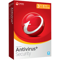 Trend Micro Antivirus + Security 3 User 1 Year (PC)