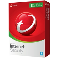 Trend Micro Internet Security 1 Device 1 Year (PC/Mac)