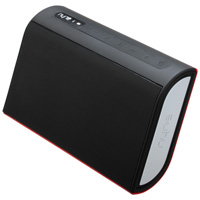 Nyne TT Portable Wireless Speaker Black & Red
