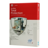 McAfee Total Protection 2015 1 User 1 Year (PC)