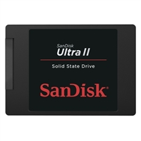 SanDisk Ultra II 240GB SATA III 6Gb/s Internal Solid State Drive SDSSDHII-240G-G25
