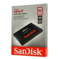 SanDisk Ultra II 960GB SATA III 6Gb/s Internal Solid State Drive SDSSDHII-960G-G25