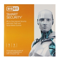 ESET Smart Security 1 User 1 Year OEM (PC)