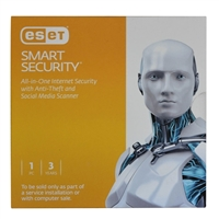 ESET Smart Security - 1 Device, 3 Year OEM (PC)