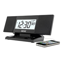 Akai Stereo AM/FM Clock Radio