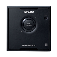 BUFFALO DriveStation Quad 8TB (4 x 2 TB) USB 3.0 High Performance RAID Array HD-QH8TU3R5