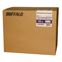 BUFFALO DriveStation Quad 16 TB (4 x 4 TB) USB 3.0 Desktop Hard Drive - HD-QH16TU3R5