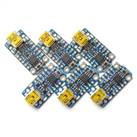 Adafruit Industries Trinket 3V and 5V - 6 Pack