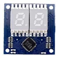 Tiny Circuits TinyShield 7 Segment Display