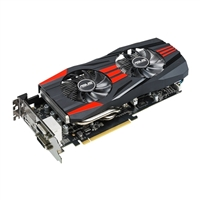 ASUS AMD Radeon R9 270X Overclocked 4GB GDDR5 Direct-CU II TOP Edition PCIe Video Card