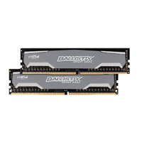 Crucial Ballistix Sport 16GB KIT (4GBx4) DDR4-2400 PC4-19200 Quad Channel Desktop Memory Kit