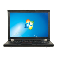 "Lenovo ThinkPad T410 Windows 7 Professional 14.1"" Laptop Computer Refurbished - Black"