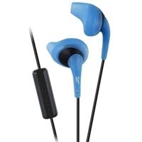 JVC Gumy Sport Stereo Earbuds w/ Mic - Blue/Black