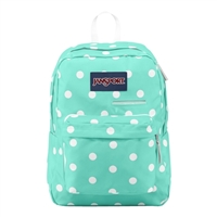 Jansport Digibreak Laptop Backpack - Aqua Dash Spots