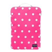 "Jansport 15"" 1.0 Laptop Sleeve - Fluorescent Pink Spots"