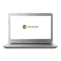 "Toshiba CB35-A3120 13.3"" Chromebook Refurbished - Sunray Silver"
