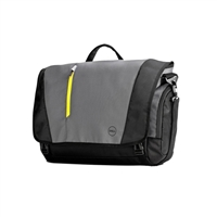 "Dell 17"" Tek Laptop Messenger - Gray/Black"