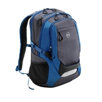 """Dell Dell Energy 2.0 Backpack Fits Screens up to 15.6"""" - Blue/Gray"""